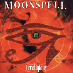 Irreligious by MOONSPELL album cover