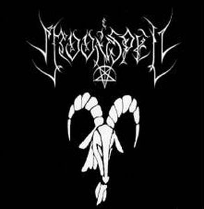 Moonspell Goat on Fire 7'' album cover