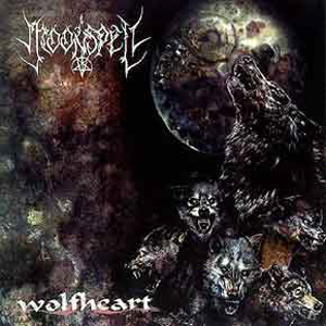 Moonspell - Wolfheart CD (album) cover
