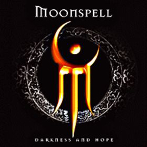 Moonspell - Darkness and Hope CD (album) cover