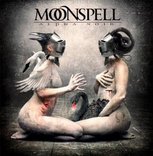 Alpha Noir / Omega White by MOONSPELL album cover