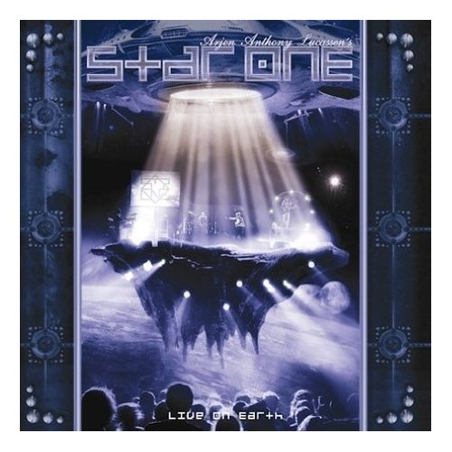 Live On Earth (CD/DVD) by STAR ONE album cover