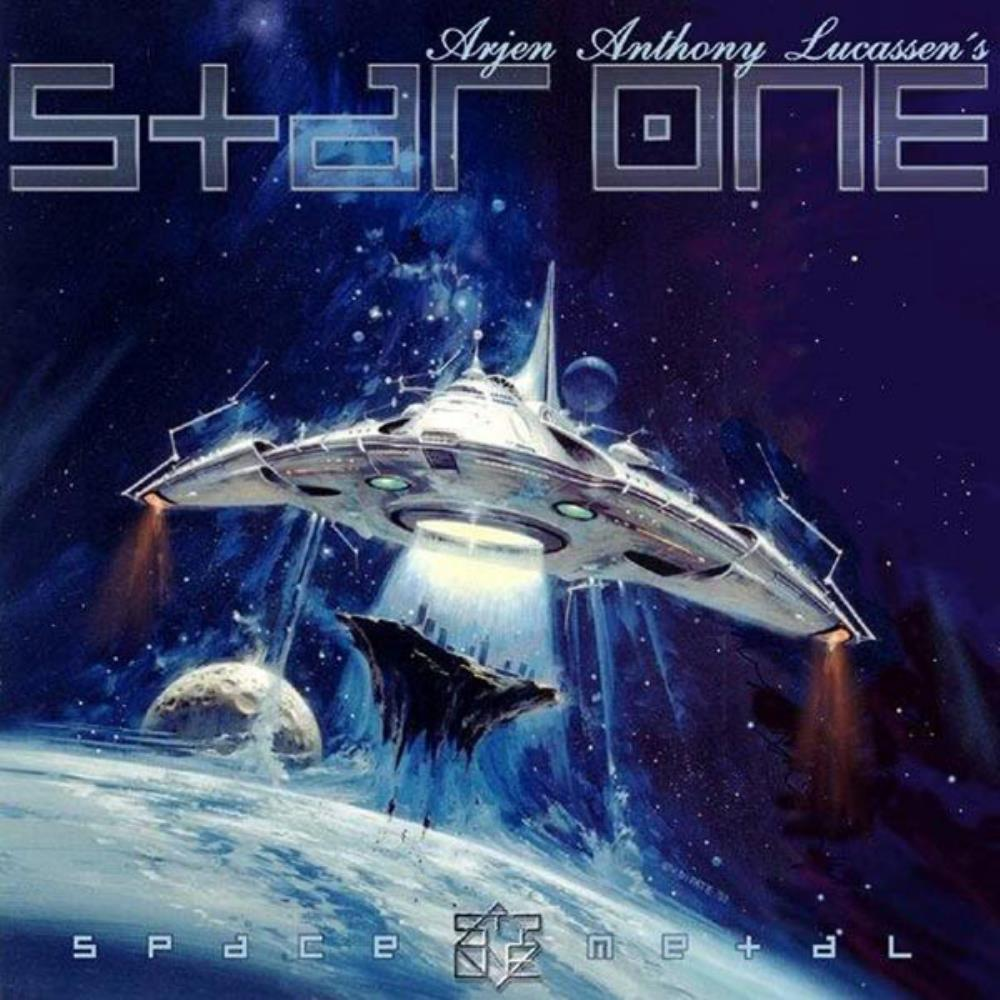 Star One - Space Metal CD (album) cover