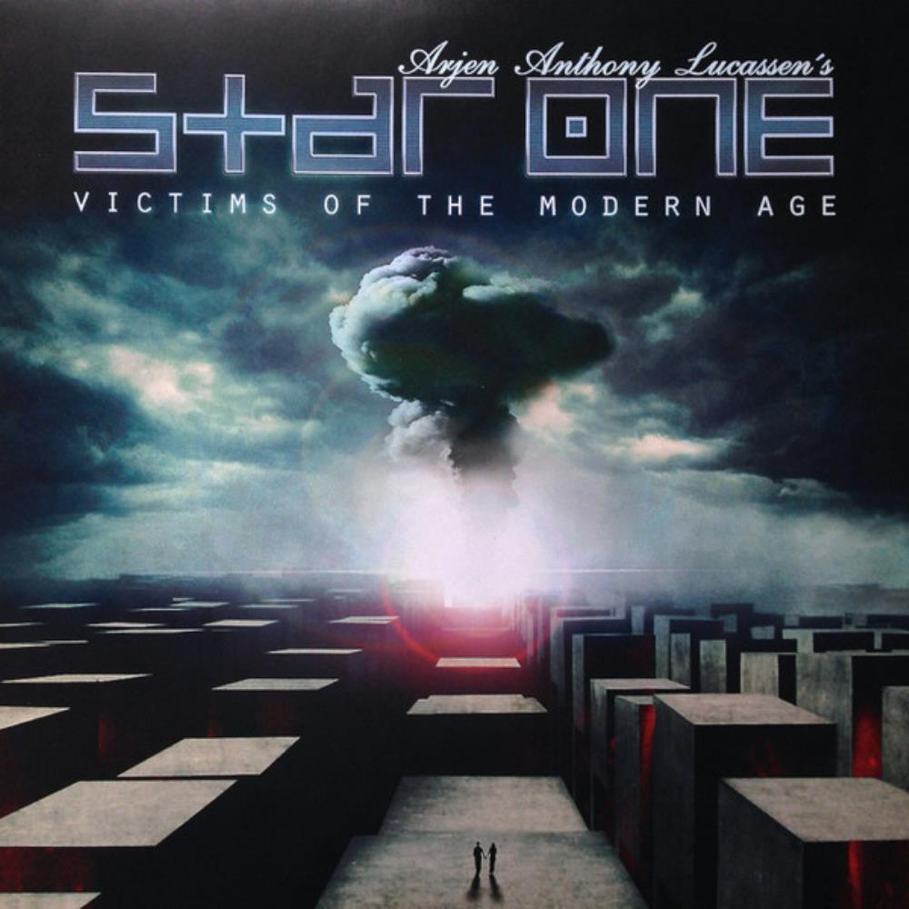 Star One - Victims Of The Modern Age CD (album) cover