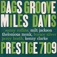 Bags' Groove by DAVIS, MILES album cover