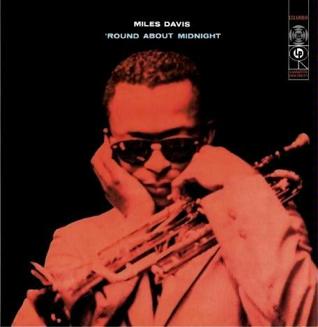 'Round About Midnight by DAVIS, MILES album cover