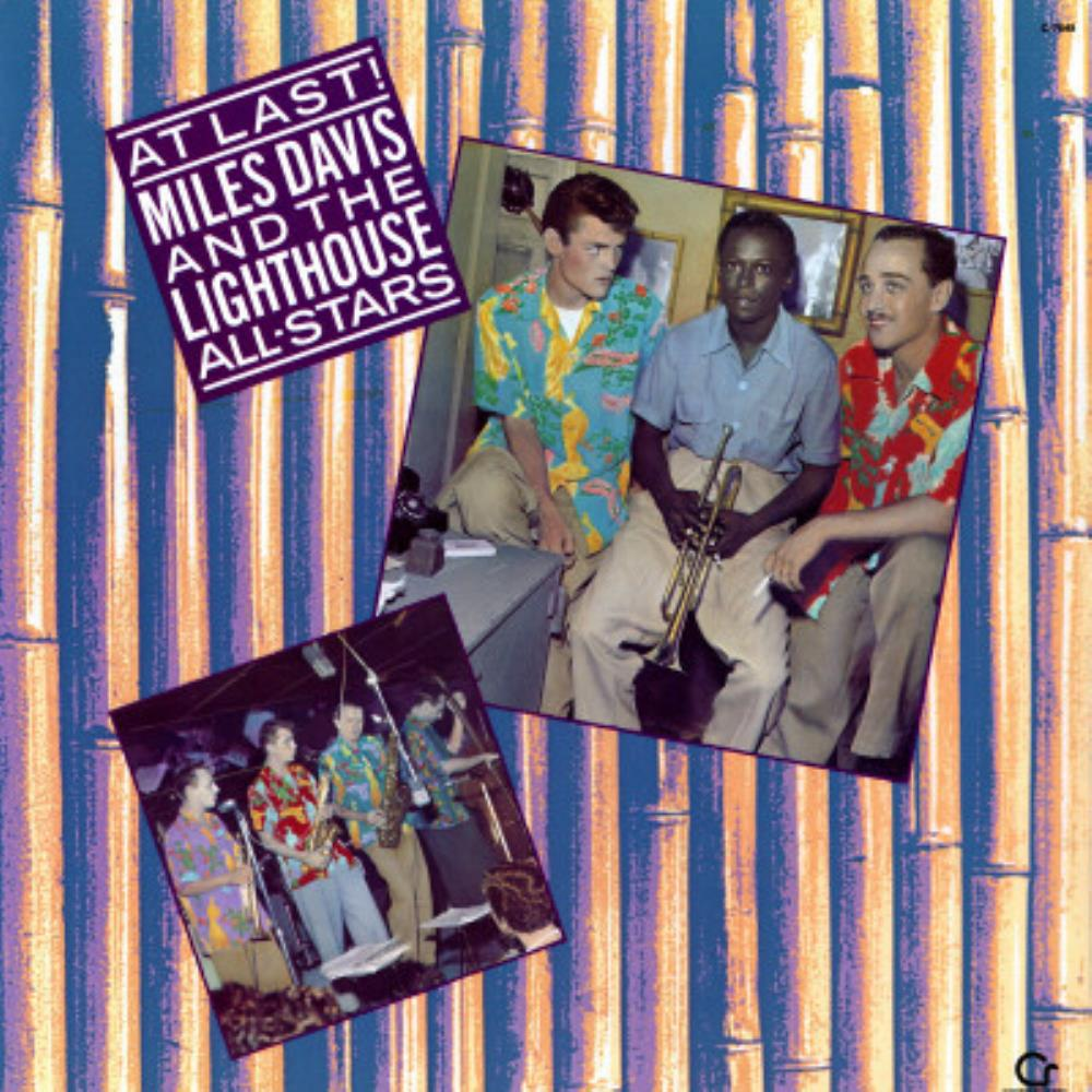 Miles Davis - Miles Davis And The Lighthouse All-Stars: At Last ! CD (album) cover