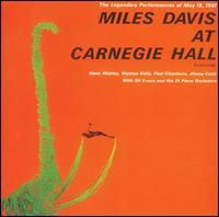Miles Davis At Carnegie Hall album cover