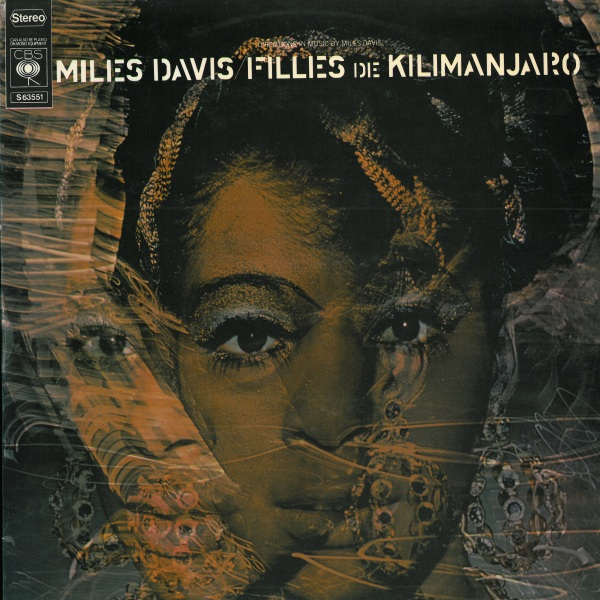 Miles Davis - Filles De Kilimanjaro CD (album) cover