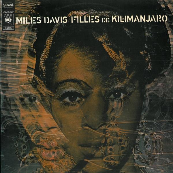 Filles De Kilimanjaro by DAVIS, MILES album cover
