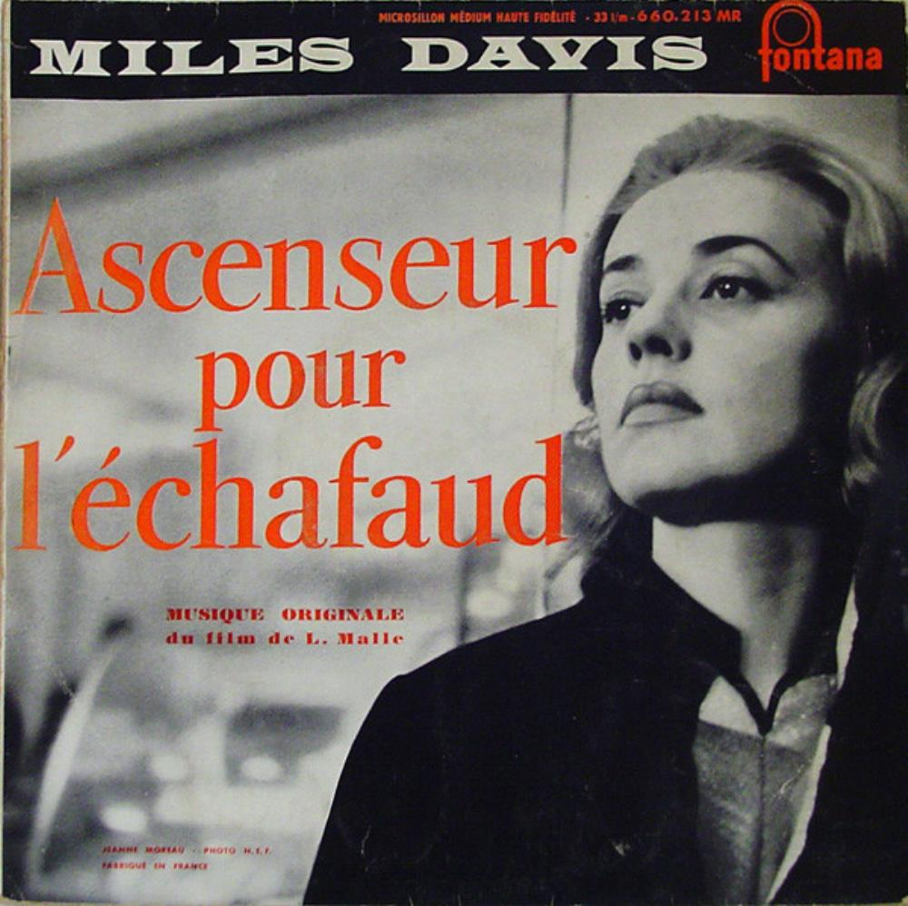 Ascenseur Pour l'Échafaud (Lift To The Scaffold) by DAVIS, MILES album cover