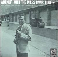 Miles Davis Workin' album cover