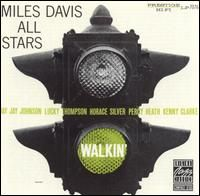 Miles Davis Walkin' album cover