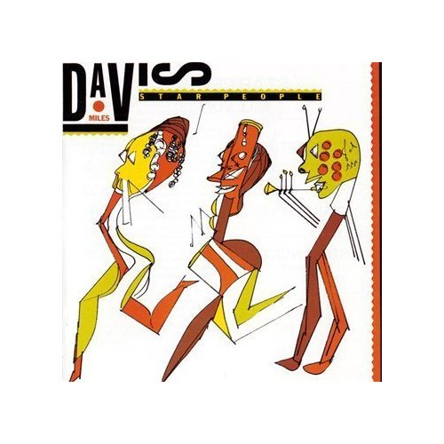 Miles Davis - Star People CD (album) cover