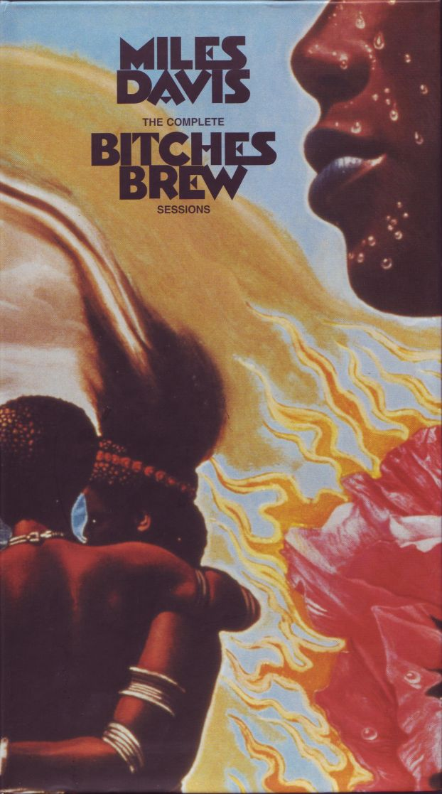Miles Davis The Complete Bitches Brew Sessions album cover