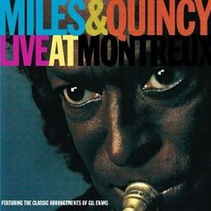 Miles Davis Live At Montreux (with Quincy Jones) album cover