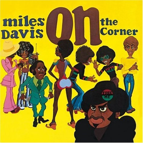 Miles Davis - On the Corner CD (album) cover