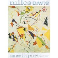 Miles Davis Miles in Paris album cover