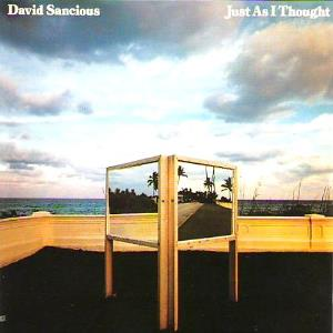 David Sancious - Just as I thought CD (album) cover