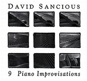 David Sancious 9 Piano Improvisations album cover