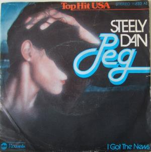 Steely Dan Peg album cover