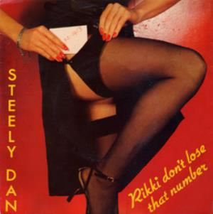 Steely Dan Rikki Don't Loose That Number album cover