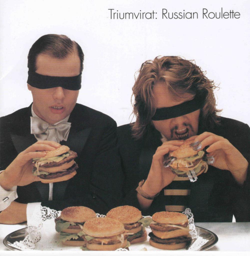 Russian Roulette by TRIUMVIRAT album cover