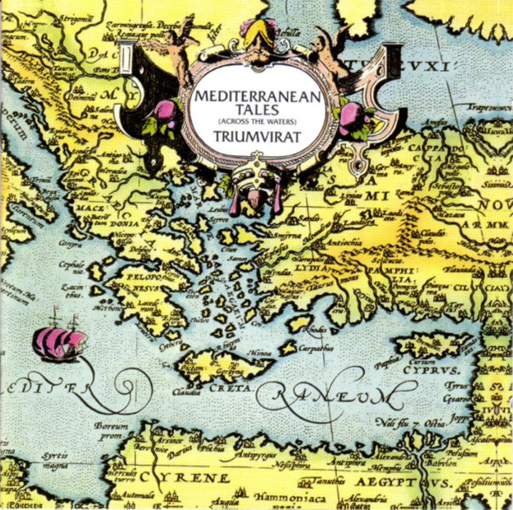 Mediterranean Tales (Across The Waters) by TRIUMVIRAT album cover