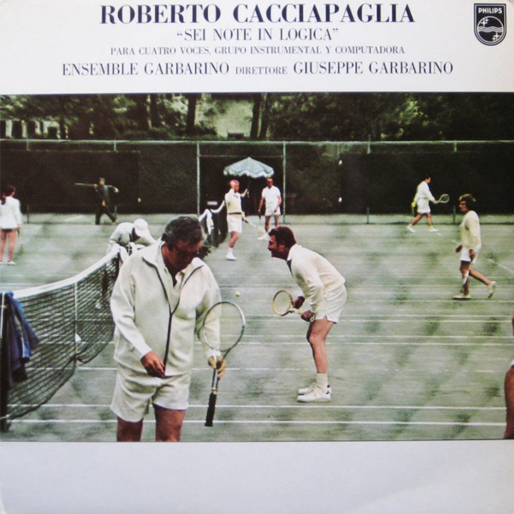 Roberto Cacciapaglia - Sei Note In Logica CD (album) cover