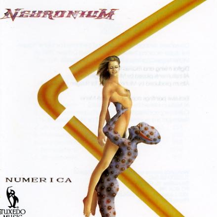 Numerica by NEURONIUM album cover