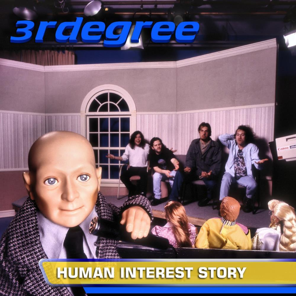 3RDegree - Human Interest Story CD (album) cover