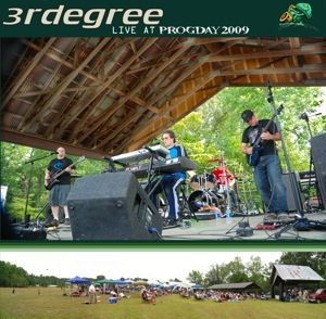 3RDegree - Live At ProgDay 2009 CD (album) cover