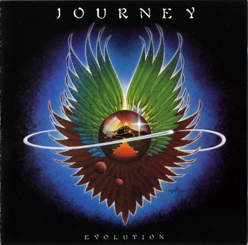 Evolution by JOURNEY album cover