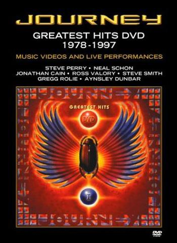 Journey Greatest Hits DVD 1978-1997 album cover
