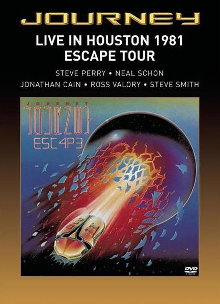 Journey Live in Houston 1981: Escape Tour album cover