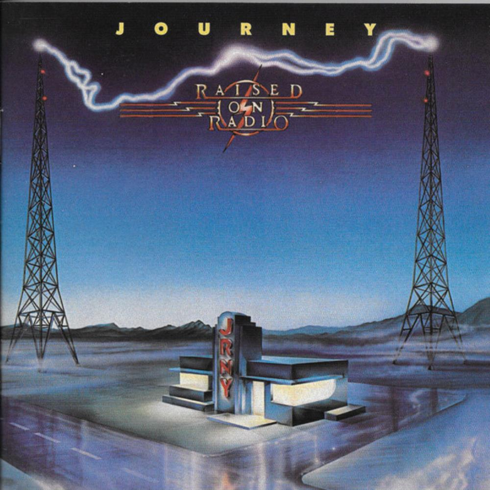 Journey - Raised On Radio CD (album) cover