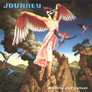 Journey When You Love A Woman album cover