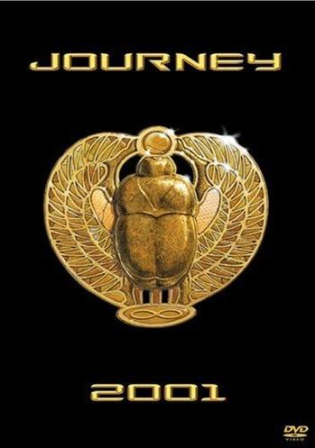 Journey - Live:2001 CD (album) cover