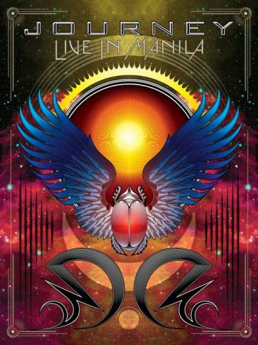 Journey Live In Manila album cover