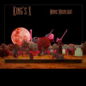 King's X - Manic Moonlight CD (album) cover