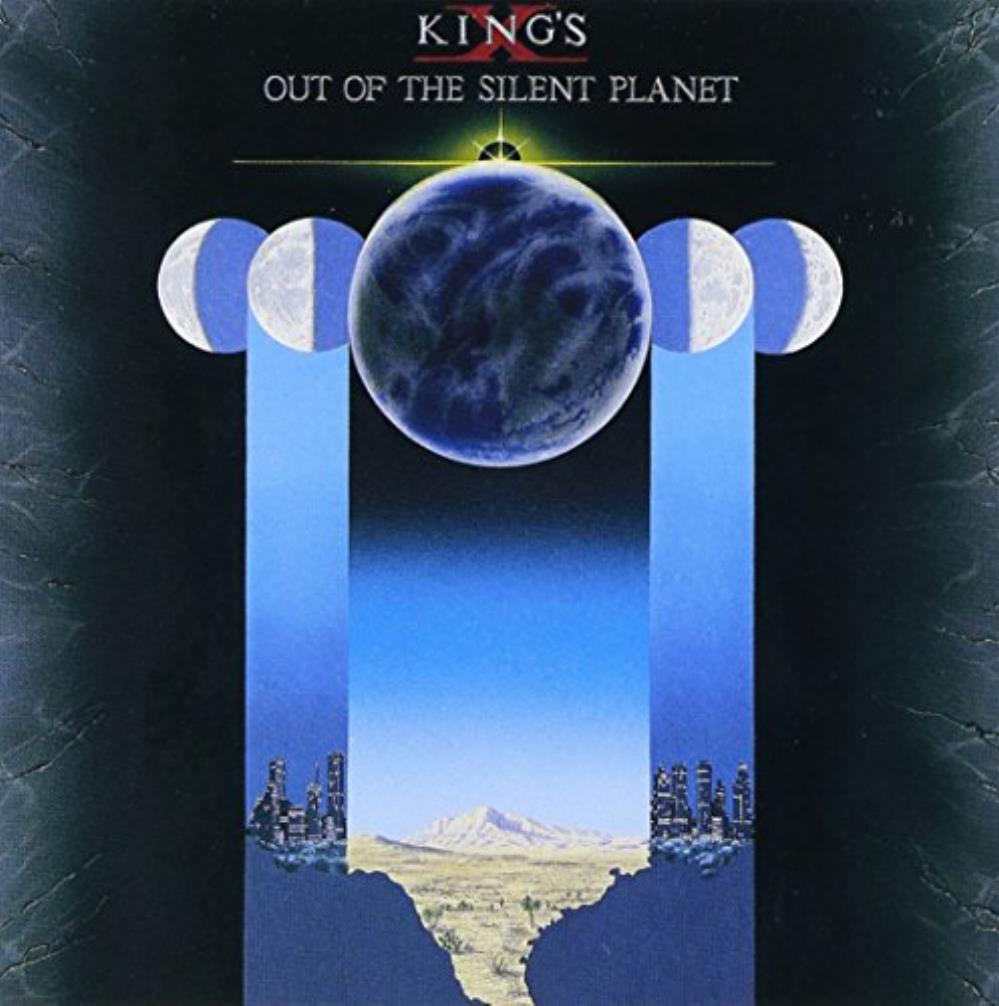 King's X - Out Of The Silent Planet CD (album) cover