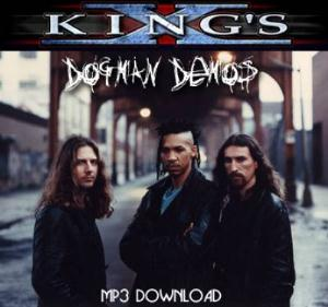 King's X Dogman Demos album cover