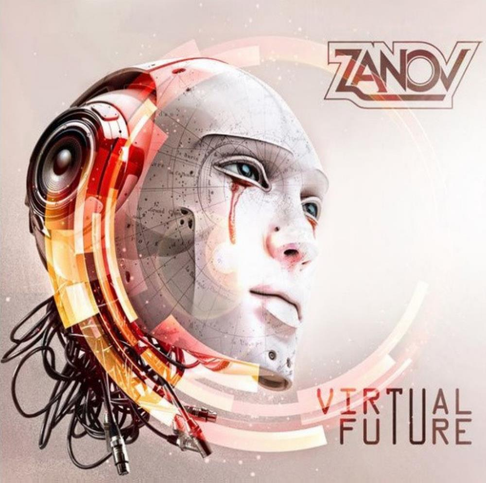 Virtual Future by ZANOV album cover