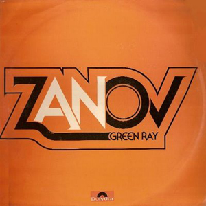 Zanov - Green Ray CD (album) cover