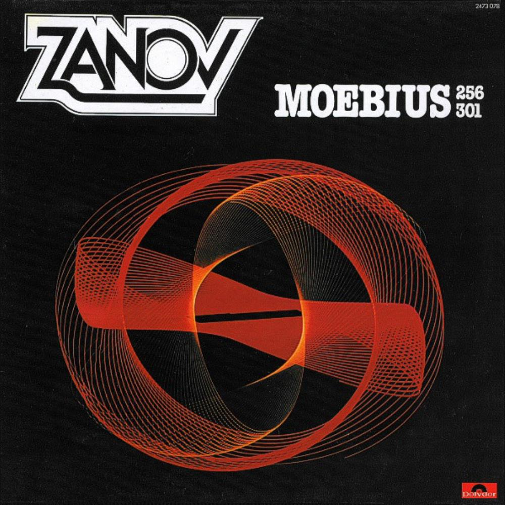 Zanov - Moebius 256 301 CD (album) cover