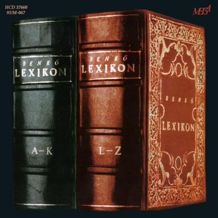 L�szl� Benkő - Lexikon A-Z CD (album) cover