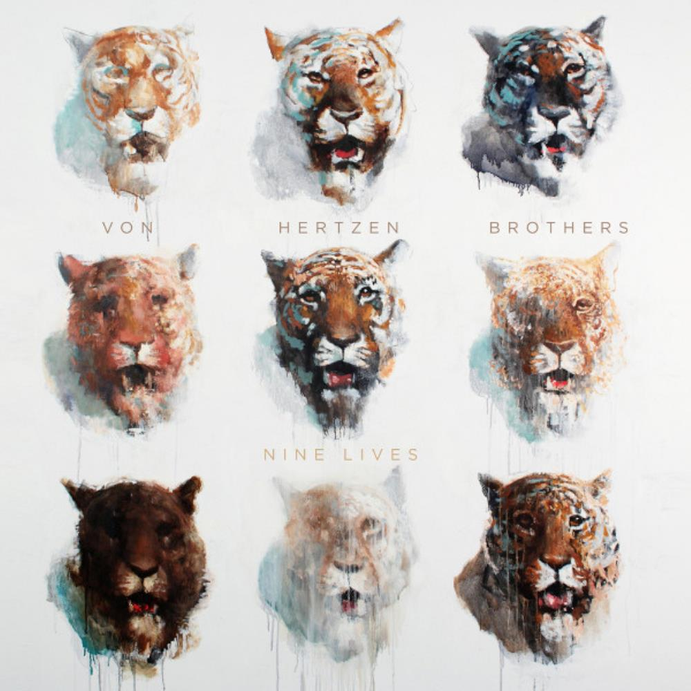 Nine Lives by VON HERTZEN BROTHERS album cover