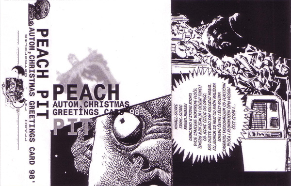 Peach Pit Autom / Christmas Greetings Card '98 album cover