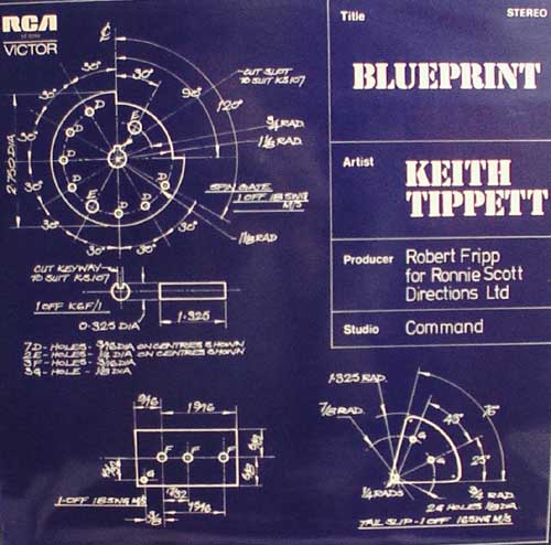 Keith Tippett Group - Blue print CD (album) cover