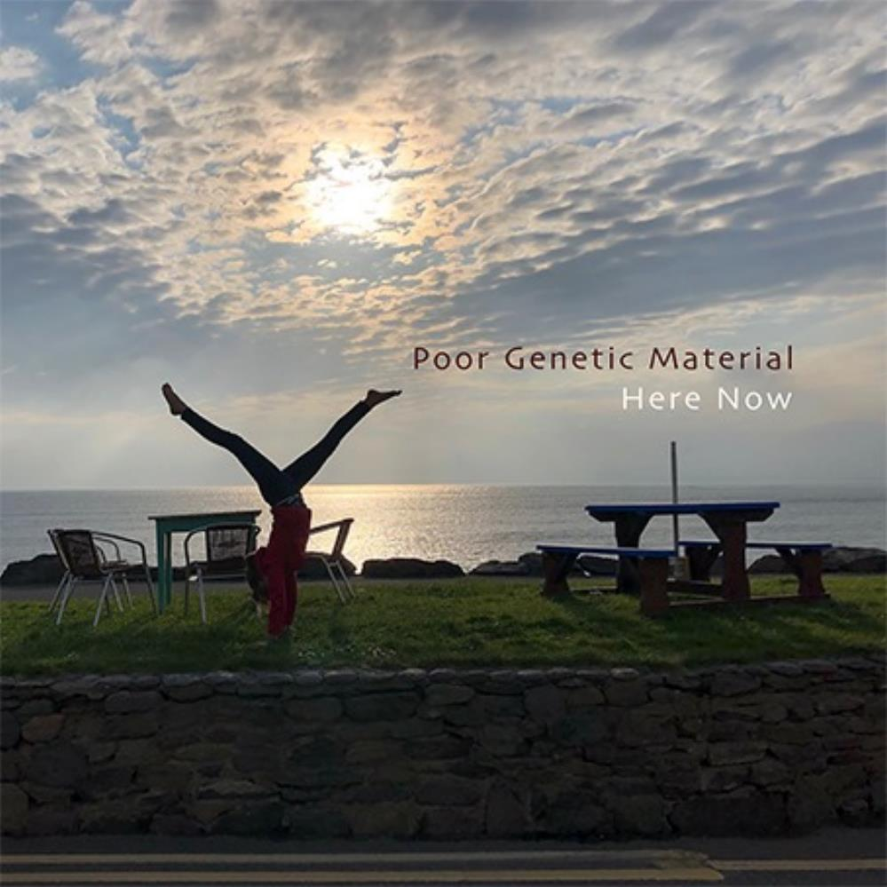 Here Now by POOR GENETIC MATERIAL album cover